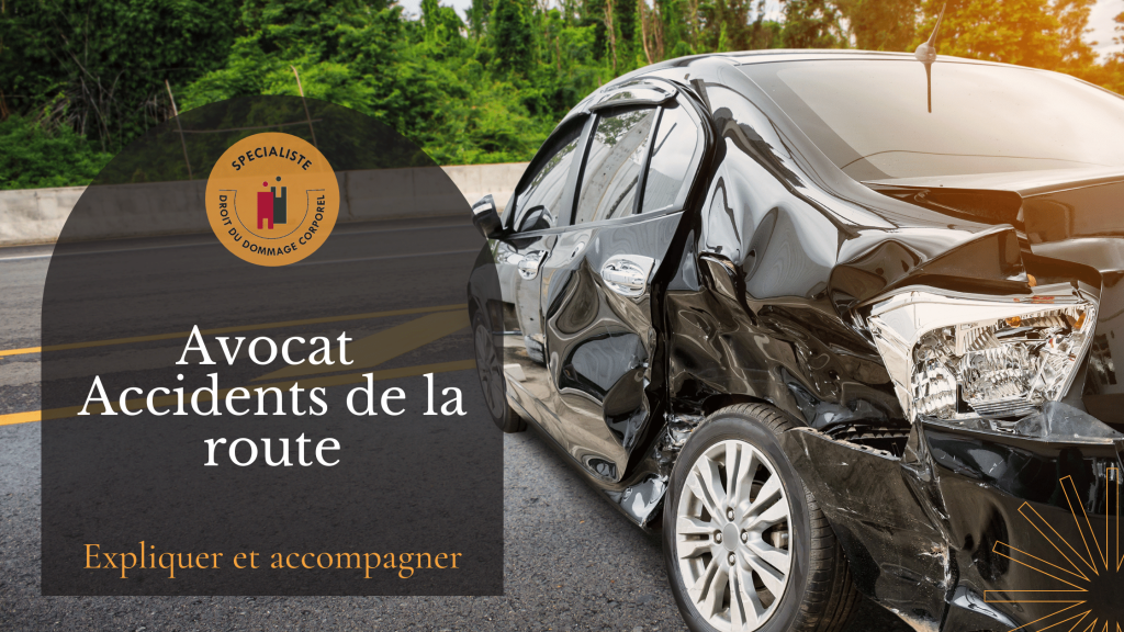 Avocat Accidents de la route Maître Line Cayron Pantel